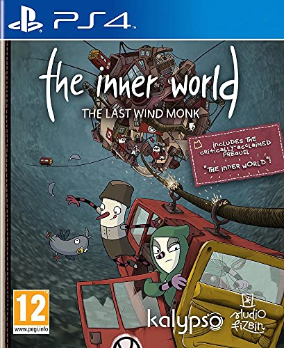 The Inner World The Last Wind Monk (PS4) from Kalypso Media