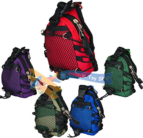 Mini Climbing Camping Carry Bag Rucksack Bum Belt Clip PHone Key Camera Storage Purple from KandyToys