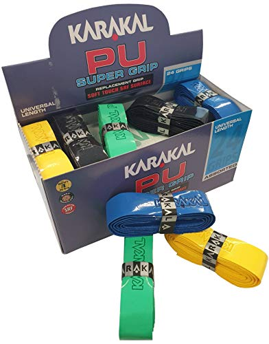 Karakal PU Super Squash Grips (Multi Colours) from Karakal