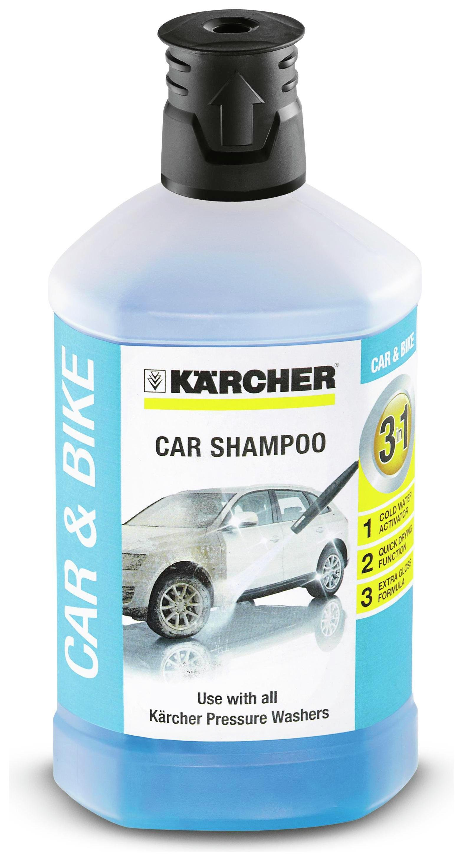 Karcher - Car Shampoo Plug and Clean Detergent at Argos from Karcher