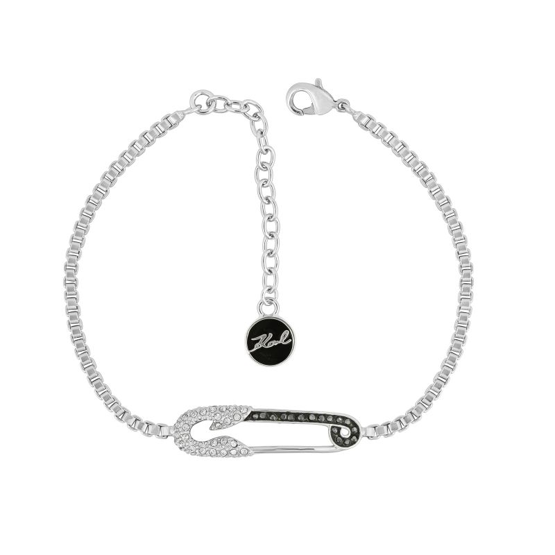 Karl Lagerfeld Safety Pin Bracelet from Karl Lagerfeld Jewellery