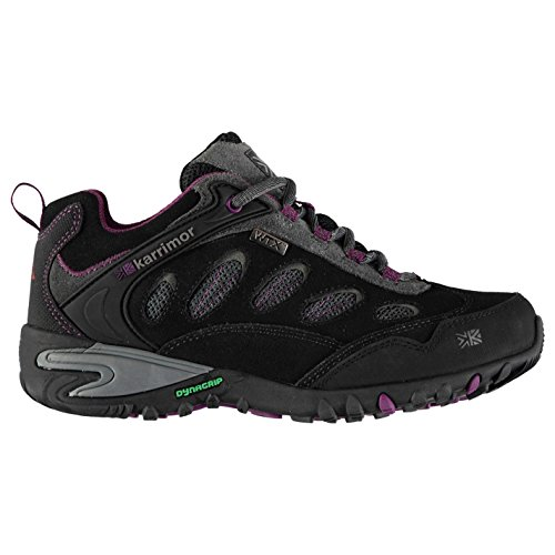 Karrimor Womens Ridge WTX Walking Shoes Waterproof Lace Up Breathable Charcoal UK 8 (42) from Karrimor