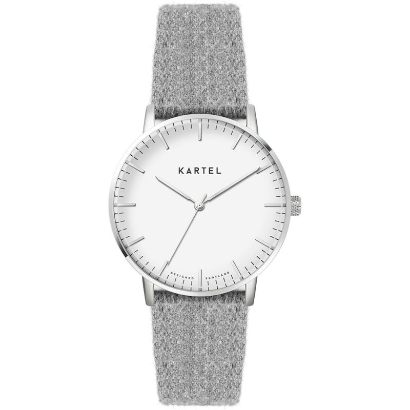 Ladies Kartel Scotland Lewis 34mm Cashmere Watch from Kartel Scotland