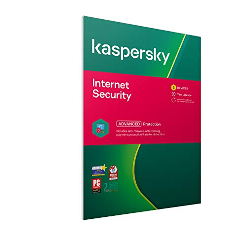 Kaspersky Internet Security 2019 | 3 Devices | 1 Year | PC/Mac/Android | Activation Code by Post from Kaspersky Lab