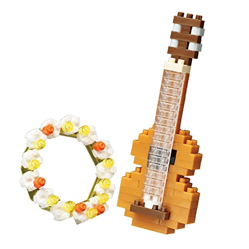 nanoblock NBC206 Ukulele Building Kit from nanoblock