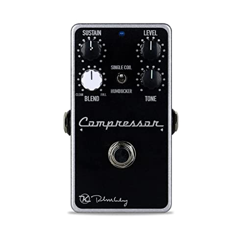 Keeley Compressor Plus 4-Knob Compressor Pedal from Keeley Electronics Pedals