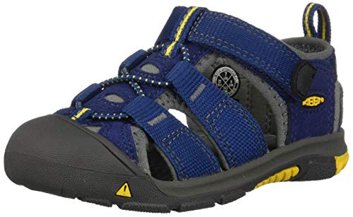 Keen Unisex Kids Newport H2 Hiking Sandals, Blue (Blue Depths /Gargoyle), 12 UK Child from Keen