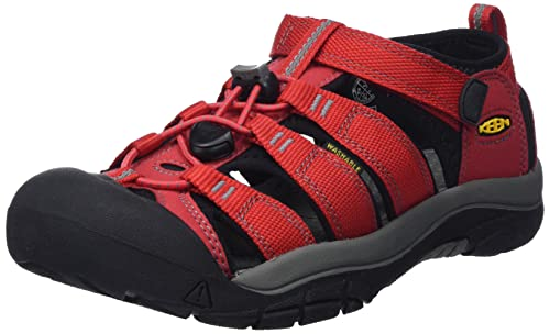 Keen Newport H2, Unisex Kids Hiking Sandals, Red (Ribbon Red/Gargoyle), 11 Child UK (30 EU) from Keen