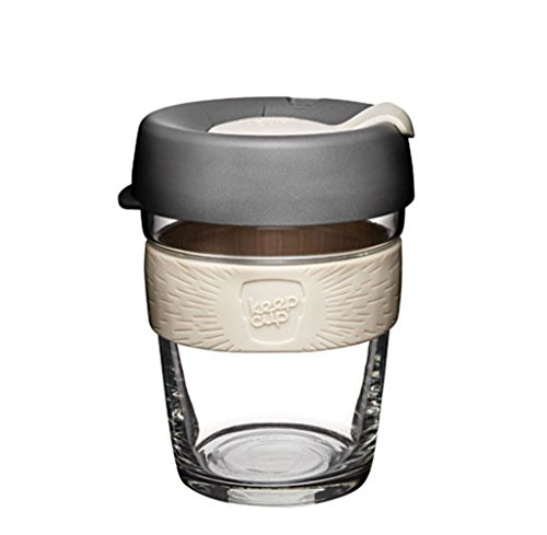 KeepCup Brew, Reusable Glass Cup, Medium 12oz | 340mls, Chai, BCHA12 from KeepCup