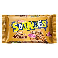 Squares Chocolate Caramel Box of 30 from Kellogg's