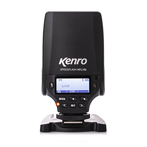 Kenro Mini Speed Flash Compatible with Fuji Camera Mounted Small Flashgun for Professional Photography in Studio or on Location - KFL102FJ from Kenro