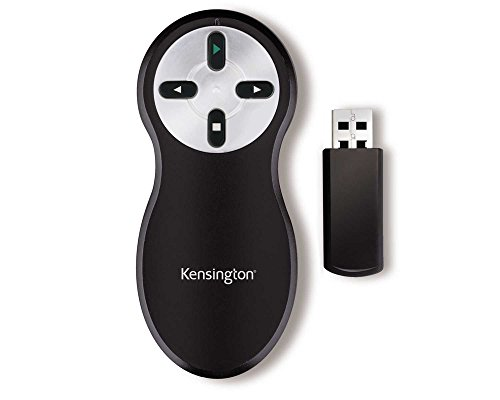 Kensington Non-Laser Wireless USB Presentation Clicker, Compatible with Windows & macOS - 20m Range (K33373EU) from Kensington