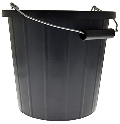 Kent Car Care Plastic Bucket 10 Litre Black from Kent Car Care