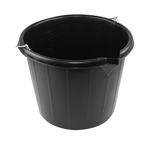 Kent Car Care Plastic Bucket 14.5 Litre Black from Kent Car Care