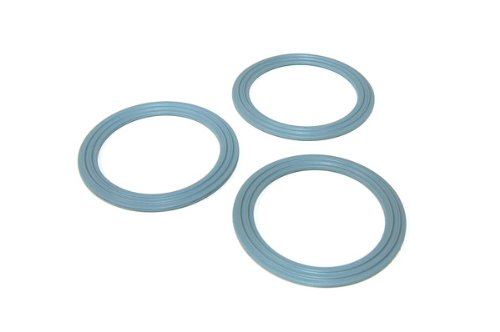 3 x KENWOOD Liquidiser lid Seals/Sealing rings - A993/A994/A996 - 650893 from Kenwood