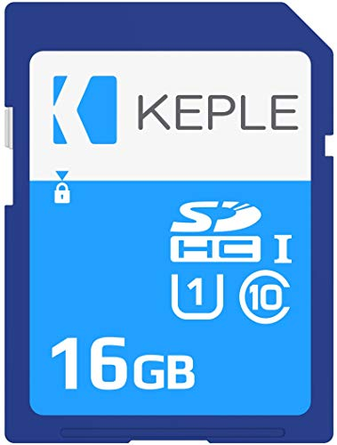 16GB SD Memory Card for Laptop by Keple | SD Card for Acer Aspire 1, 3, 3 A315-51-36D, 5, 7, ES1-132, ESI-132, A114-31 Laptop | High Speed 16 GB Class 10 UHS-1 U1 SDHC Card to Expand Data Storage from Keple