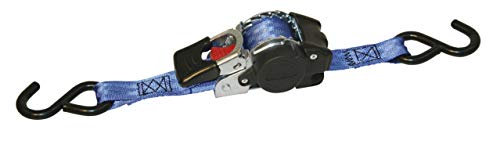 Kerbl 37181 Automatic Lashing Strap 25 mm x 3 m Maximum Load 300/600 kg with S-Hook from Kerbl