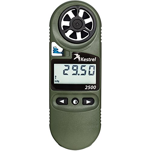 Kestrel Unisex's KEST-0825NV 2500NV Weather/Digital Plus NV Backlight Altimeter, Olive, One Size from Kestrel