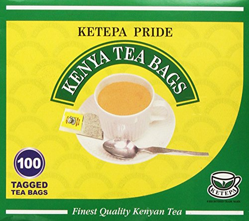 Ketepa Kenya Tea - Pride - 100Ct Tea Bags from Ketepa