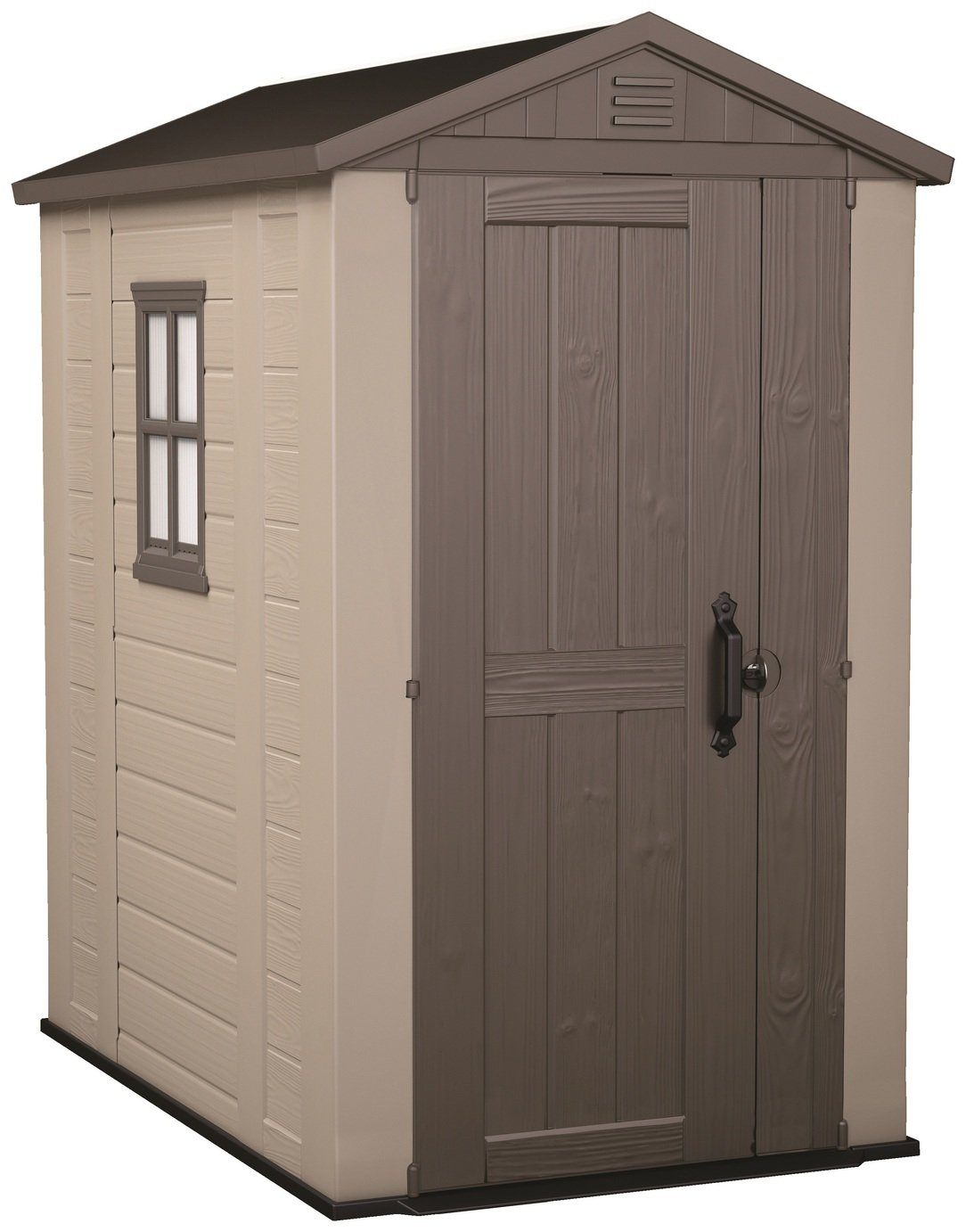 Keter Apex Plastic Garden Shed - 4 x 6ft from Keter