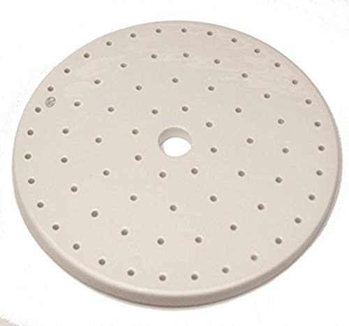 Kimble 31250-150 Porcelain Plate for Soda Lime Desiccator, 150 mm OD from Kimble