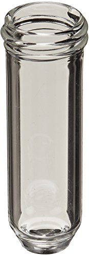 Kimble ACCUFORM 60690-4 Borosilicate Glass Straight-Sided Shoulderless Storage and Sample Retrieval Vials, 16ml Capacity, 24-400 GPI Thread Finish (Pack of 250) from Kimble