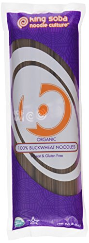 King Soba Organic Buckwheat Noodles 250 Grams (Pack of 6) from King Soba