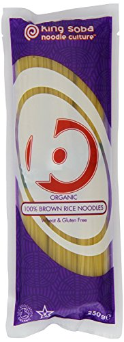 King Soba Organic 100% Brown Rice Noodles 250g from King Soba