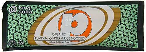 King Soba | Pumpkin Ginger & Rice Noodles | 7 x 250g from King Soba