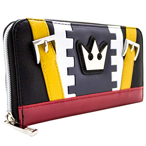47b0723399d1 Kingdom Hearts Sora Outfit Style Blue Coin   Card Clutch Purse from Kingdom  Hearts