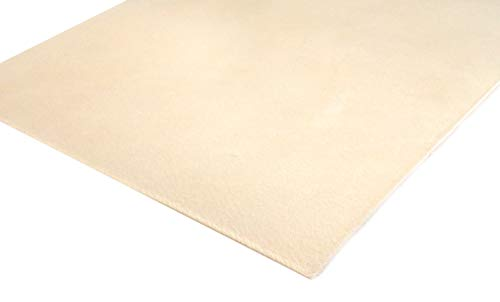 Veg Tan Leather 1mm - Veg Tanned Tooling Leather AAA-Grade Hide Avail In Various Sizes (6 inch x 8 inch) from Kingdom Leather