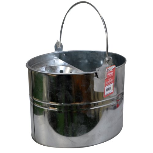 Kingfisher Galvanised Mop Bucket, Silver, 11 Litre from Kingfisher