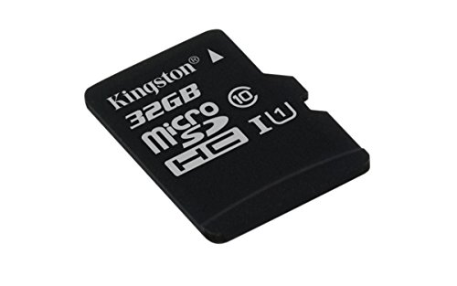 Kingston SDCS/32 GBSP MicroSD Canvas Select Class 10 UHS-I Speeds Up to 80 MB/s Read (Card Only) - Bring Your HD Videos to Life from Kingston