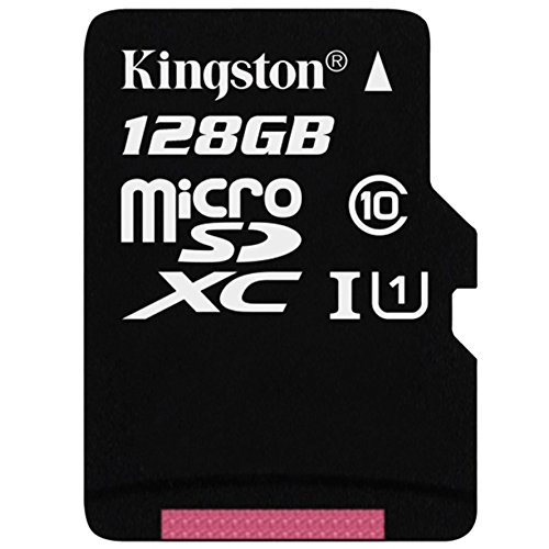Kingston SDCX10/128GB Class 10, 128 GB Micro SDXC Memory Card with Adapter from Kingston