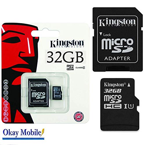 Original Kingston 32GB Micro SD Card Memory Card For Samsung Galaxy A5 2016 A510 °F from Kingston