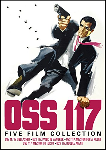 OSS 117: Five Film Collection (OSS 117 Is Unleashed / OSS 117: Panic in Bangkok / OSS 117: Mission For a Killer / OSS 117: Mission to Tokyo / OSS 117: Double Agent) from Kino Classics