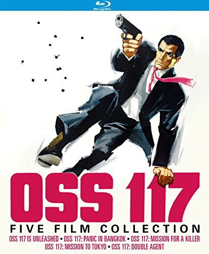 OSS 117: Five Film Collection (OSS 117 Is Unleashed / OSS 117: Panic in Bangkok / OSS 117: Mission For a Killer / OSS 117: Mission to Tokyo / OSS 117: Double Agent) [Blu-ray] from Kino Classics