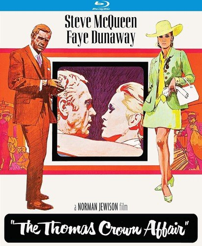 The Thomas Crown Affair (50th Anniversary Special Edition) [Blu-ray] from Kino Classics
