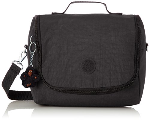 Kipling New Kichirou Lunch Bag, 45 cm, Black (True Black) from Kipling