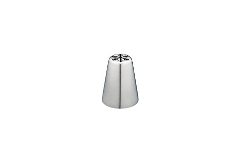 KitchenCraft Sweetly Does It Stainless Steel Russian Icing Nozzle, 1.6 cm (16 mm) - Snowflake from KitchenCraft