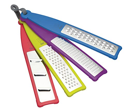 Kitchen Craft Colourworks 4 Piece Grater Set from KitchenCraft