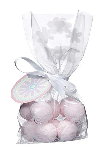 KitchenCraft Sweetly Does It Patterned Treat Bag with Ribbon, Set of 12 from KitchenCraft
