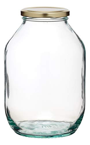 KitchenCraft Home Made Large Pickling Jar, Glass, 0.5 Gallon from KitchenCraft