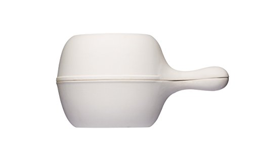 KitchenCraft Home Made Clay Potato Baker / Garlic Roaster Pot - White from KitchenCraft