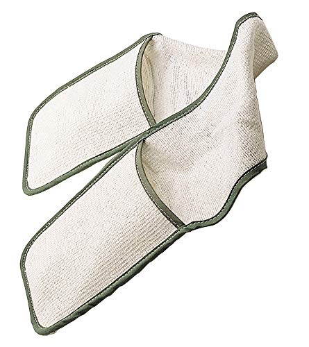 KitchenCraft Double Oven Gloves with Bound Edge, Heavy Duty Cotton, 90 x 17 cm from KitchenCraft