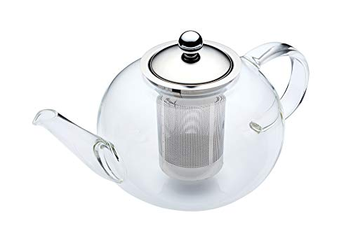 KitchenCraft 1.4 Litre Le Xpress Teapot, Glass, Transparent, 9 x 12 x 16 cm from KitchenCraft