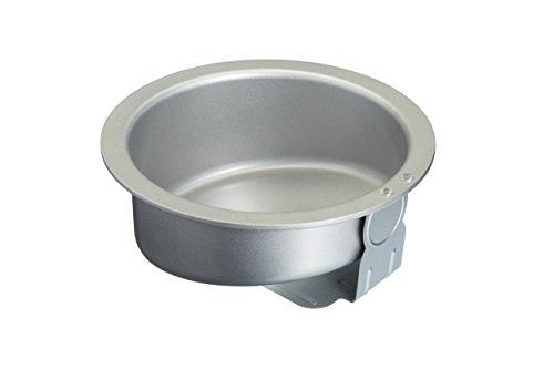 "KitchenCraft Sweetly Does It Large Carbon Steel Non-Stick Topsy-Turvy Cake Tin, 21 cm (8.5"") from KitchenCraft"