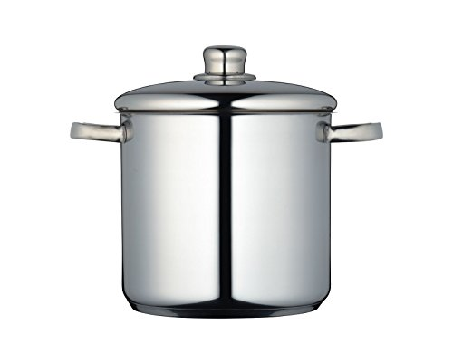 KitchenCraft MasterClass Induction-Safe Stainless Steel Stock Pot with Lid, 5.5 Litre from KitchenCraft