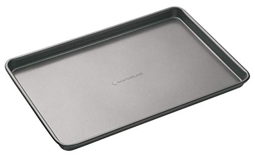 KitchenCraft MasterClass Large Non-Stick Baking Tray, Grey, 39 x 27 cm from KitchenCraft
