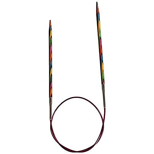 KnitPro 120 cm x 5 mm Symfonie Fixed Circular Needles, Multi-Color from KnitPro